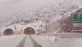 Προβλήματα στο οδικό δίκτυο λόγω της έντονης χιονόπτωσης