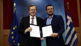 Μνημόνιο συνεργασίας με την Ευρωπαϊκή Διαστημική Υπηρεσία