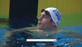 Τρομερός Βαζαίος, στον τελικό των 200μ. πεταλούδα με Πανελλήνιο ρεκόρ