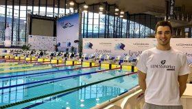 5ος με πανελλήνιο ρεκόρ ο Χρήστου στα 200μ. ύπτιο - Τελικοί για Γκολομέεβ, Ντουντουνάκη...