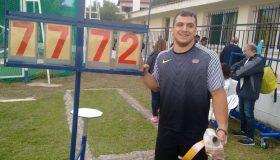 6ος ο Αναστασάκης στην Οσάκα με 73,80 μ.