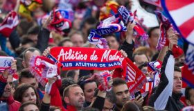 Ξενύχτησε η Μαδρίτη για την Ατλέτικο! (video)