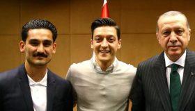 Αντίδραση DFB για τις φωτογραφίες Οζίλ-Γκουντογκάν με Ερντογάν