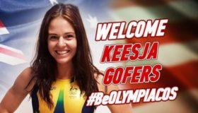 Την Αυστραλέζα Κίσα Γκόφερς πήρε ο Ολυμπιακός