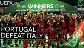 Πρωταθλήτρια Ευρώπης η Πορτογαλία! (video)