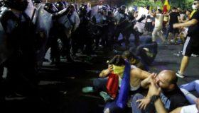 Βουκουρέστι: Εκατοντάδες τραυματίες σε αντικυβερνητική διαδήλωση