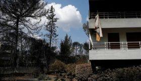 Τα έκτακτα μέτρα στήριξης των πληγέντων από τις πυρκαγιές στην Αττική