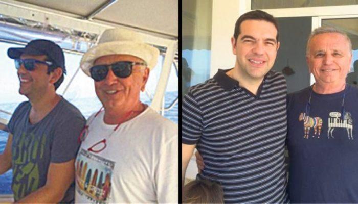 Στο Σούνιο οι διακοπές του πρωθυπουργού, μαζί με τον Mr DHI (εικόνες)