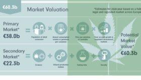 Η αγορά κάνναβης στην Ευρώπη - Μεγέθη και στατιστικές (πίνακες)