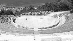 Συνέχιση του αναστηλωτικού έργου στο αρχαίο θέατρο Θάσου (εικόνες)