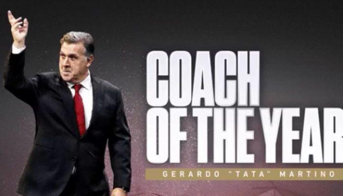 O Μαρτίνο προπονητής της χρονιάς (video)