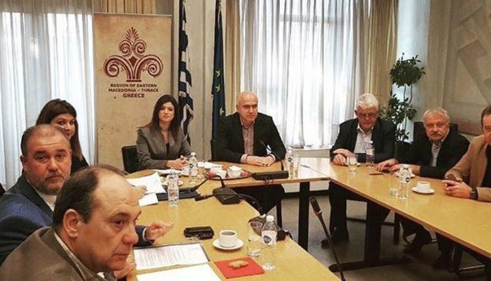Σύσκεψη με την ισραηλιτική κοινότητα στο Υπουργείο Μακεδονίας Θράκης