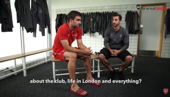Ο Σωκράτης στο «Friends reunited at Arsenal» (video)