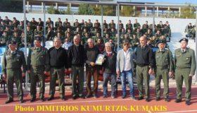 Οι βετεράνοι της ΑΕΚ «υποκλίθηκαν» στο μεγαλείο της Σχολής Ευελπίδων (εικόνες)