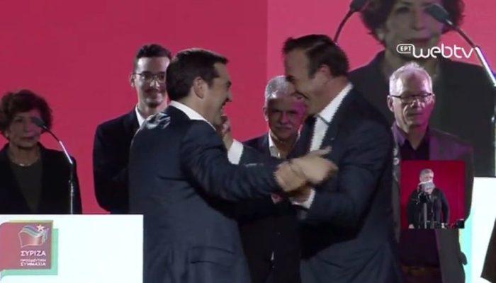 «Κανείς δεν είναι τέλειος», είπε ο Τσίπρας στην παρουσίαση Πέτρου Κόκκαλη λόγω Ολυμπιακού... (video)